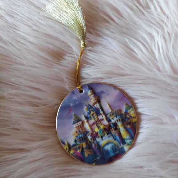 Disneyland 50th Anniversary Ornament